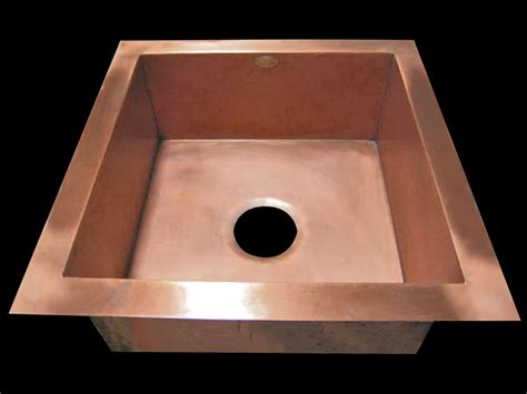 Undermount Bar Sink Copper by Copper Bar Sinks Copper Prep Custom Sinks By Circle City