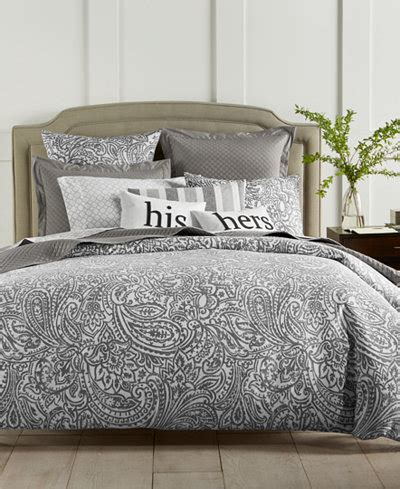 charter club comforter charter club damask designs paisley 300 thread count