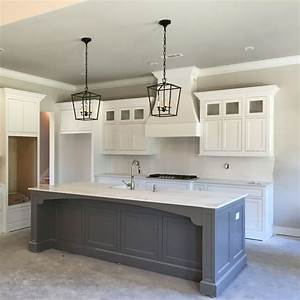 best 25 white kitchen island ideas on pinterest With kitchen colors with white cabinets with destructeur papier