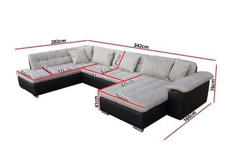 canapé d 39 angle convertible en u alta iii design
