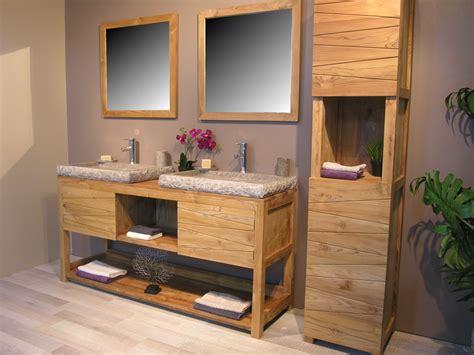 meuble cuisine teck étourdissant meuble salle de bain teck colonial avec