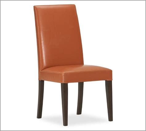 grayson side chair orange modern dining chairs by