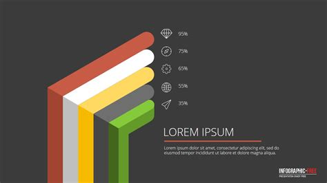 powerpoint template  flat  design banner