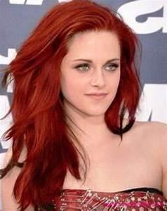Mahagoni Rot Haarfarbe : kristen stewart frisuren rote haarfarbe kristenstewart hairstyles rote haar frisuren ~ Frokenaadalensverden.com Haus und Dekorationen