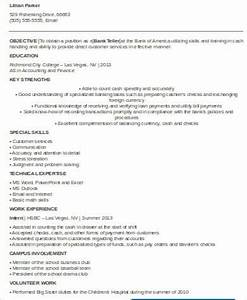 sample bank teller resume 7 examples in word pdf With sample resume for a bank teller with no experience