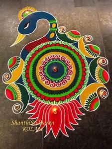 Beautiful Rangoli Designs for Diwali, Latest, Free Hand ...