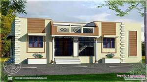 Tamilnadu style single floor home - Kerala home design and