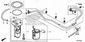 Honda Side By Side 2017 Oem Parts Diagram For Fuel Pump