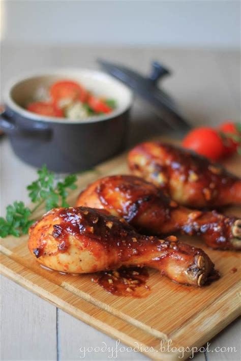 goodyfoodies recipe roast chicken  indonesian sweet