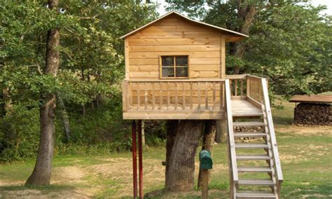 Simple Tree House Design Plans Easy Simple Tree House