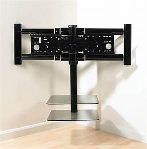 Beautiful Flat TV Corner Mounting