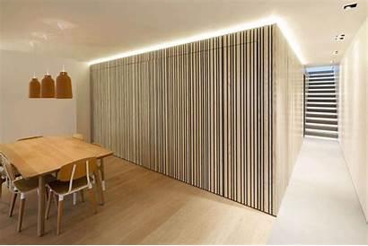 Kitchen Hidden Box Wood Completely Larch Apartment