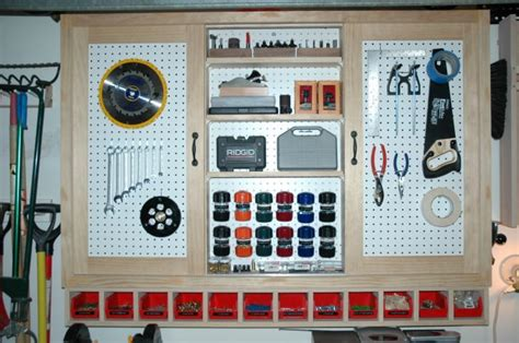secure  small tool storage  ideas woodworking
