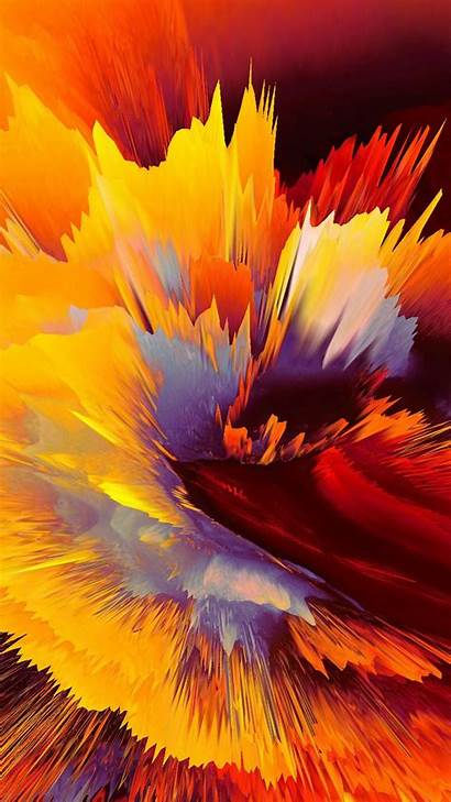 4k Abstract Colorful Explosion Smartphone Colourful Wallpapers