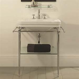 Console Salle De Bain : grand lavabo et sa console chelsea imperial ma baignoire ~ Teatrodelosmanantiales.com Idées de Décoration