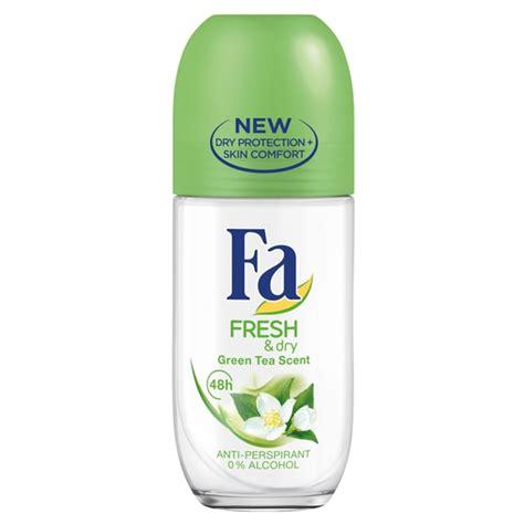 Fa Fresh & Dry Green Tea Antiperspirant Rollon Aororo