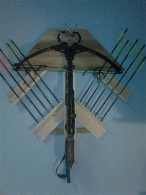 compound bow rack crossbow hunting diy bow rack