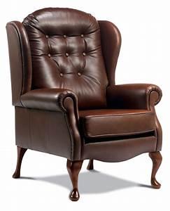 Lynton, Standard, Leather, High, Seat, Chair