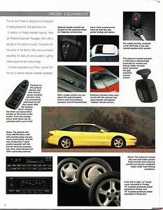 Brochures Of The Ford Probe