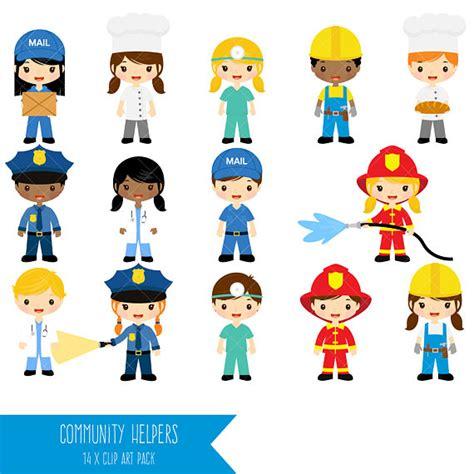 Community Helpers Clipart Job Clip Art Profession Clipart