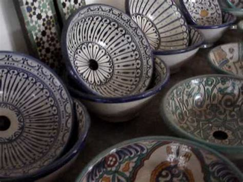 moroccan tile bathroom sinks ideas architectural morocco