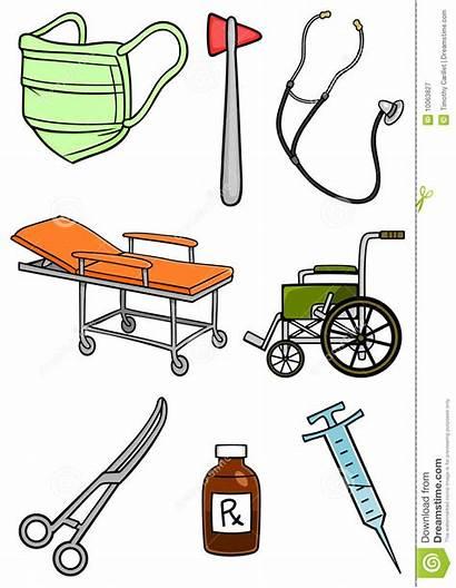 Hospital Equipment Apparatuur Ospedale Ziekenhuis Instruments Het