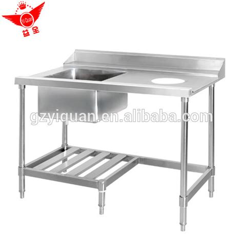 stainless steel work table with sink multi purpose stainless steel work table with kitchen sink