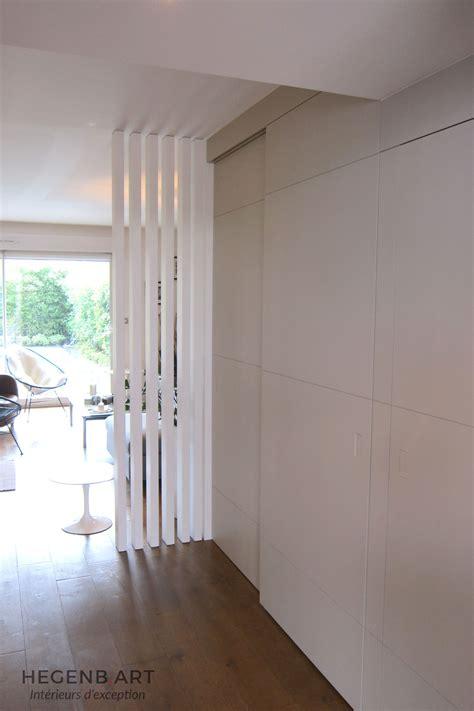 cloison chambre salon salon moderne bois
