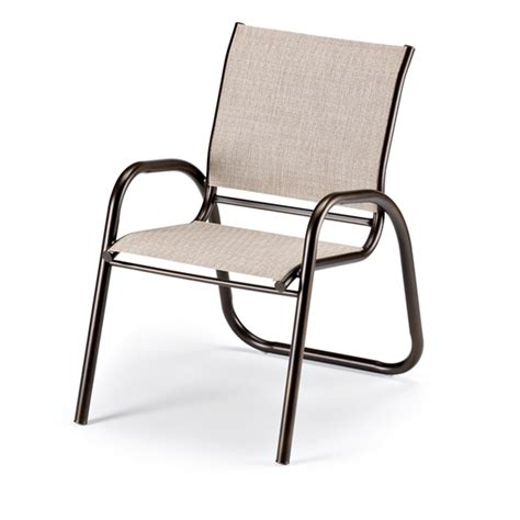 telescope casual gardenella sling stacking cafe chair 7500