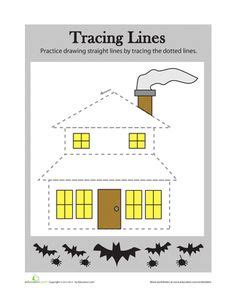 tracing lines images tracing worksheets