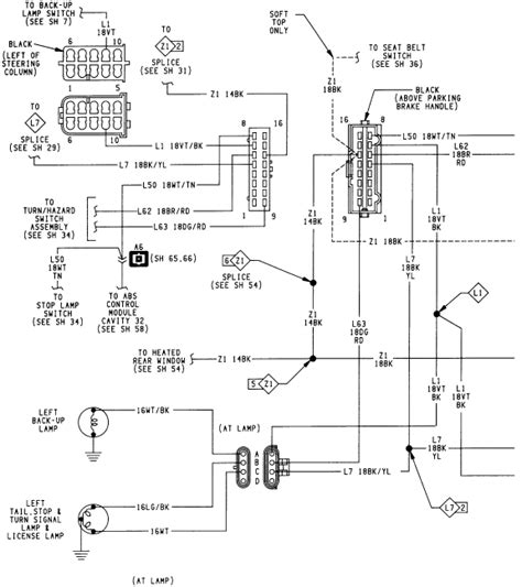 1994 Wrangler Wiring Diagram by Jeep Wrangler My 1994 Jeep Wrangler Lights And Dash
