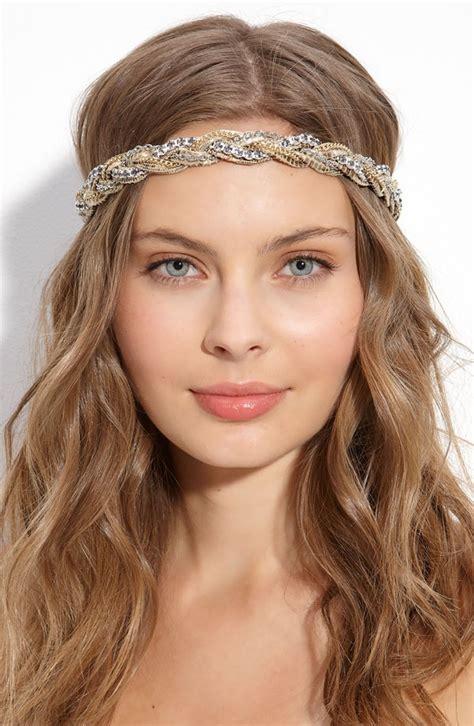 pretty hairstyles  headbands