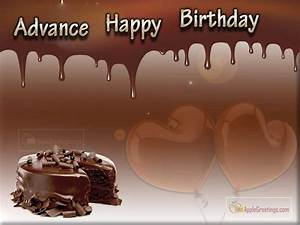 Birthday Wishes In Advance For Friends (ID=2269 ...