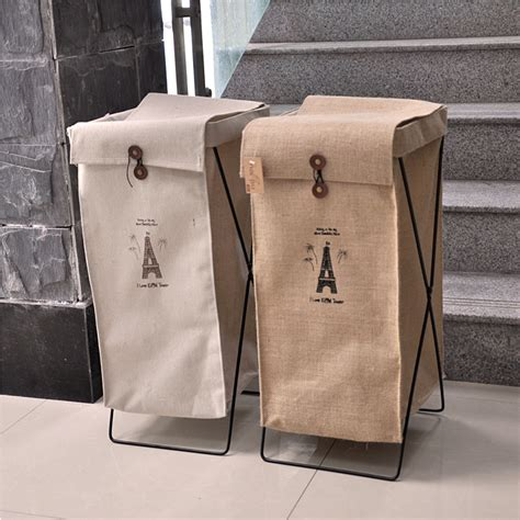 Laundry Biodegradable In 400g Box by Tower Zakka Collapsible Green Jute Linen Laundry