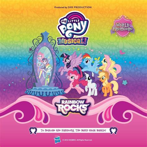 My Little Pony Musical in Singapore - Rainbow Rocks - A ...