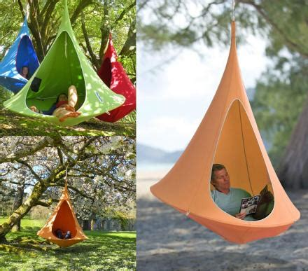 Caccoon Hammock by This Hanging Cocoon Hammock Makes The