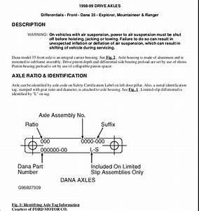 1998 Ford Explorer Front Brake Line Diagram