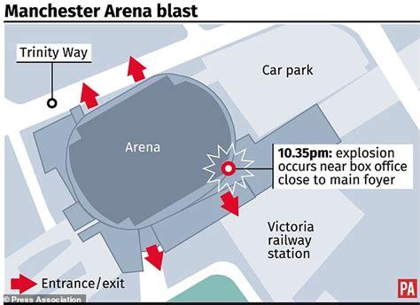 Manchester Arena Attack Graphic