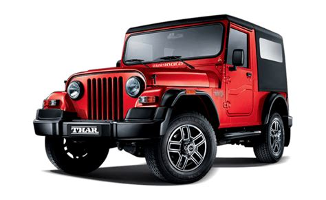 mahindra thar price in india images mileage features