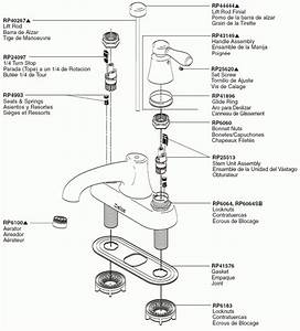 Delta Faucet Repair Parts Diagram