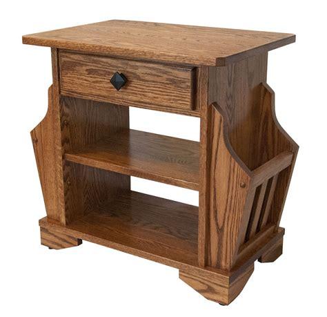 magazine rack table l four seasons furnishings amish made furniture amish made