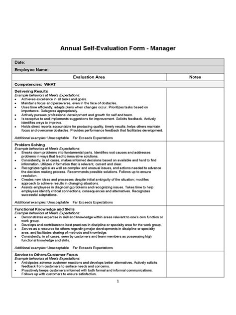 Evaluation Form  112 Free Templates In Pdf, Word, Excel