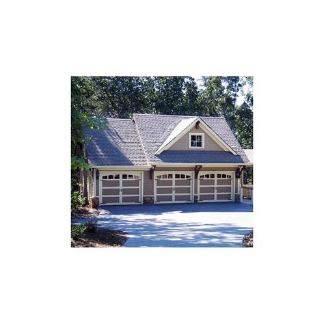 carriage house plans rustic  bay guest house plan