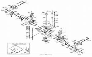 Dixon Ztr 3304  1998  Parts Diagram For Transaxle