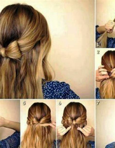 bow hairstyle step by step official