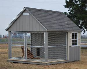 Dog kennels for sale provide a year round home for your dog for Custom dog kennels for sale