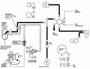 i need to find a vacuum hose diagram for my 1991 ford With wiring diagram ford kelsey hayes abs modules 95 mustang wiring diagram