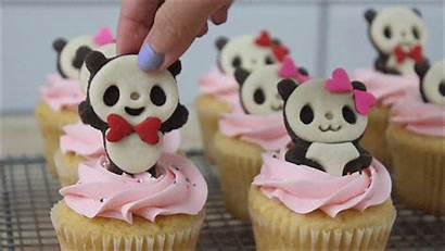 Cupcakes Panda Justice Victoria Gifs Giphy Dancing