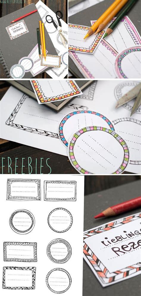 freebies etiketten zum ausdrucken handmade kultur