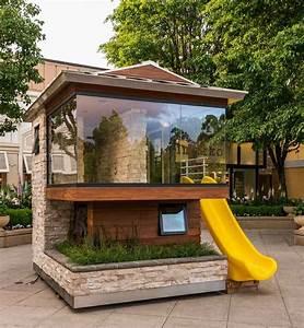 aire de jeux exterieur 30 idees de maison enfant de jardin With maison d enfant exterieur